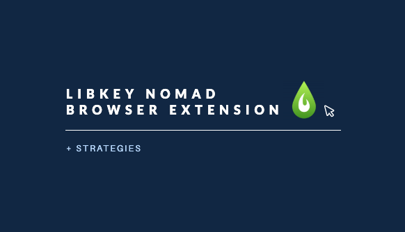 LibKey Nomad Browser Extension