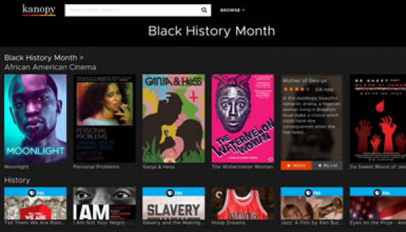 Celebrate Black History Month with Kanopy Films