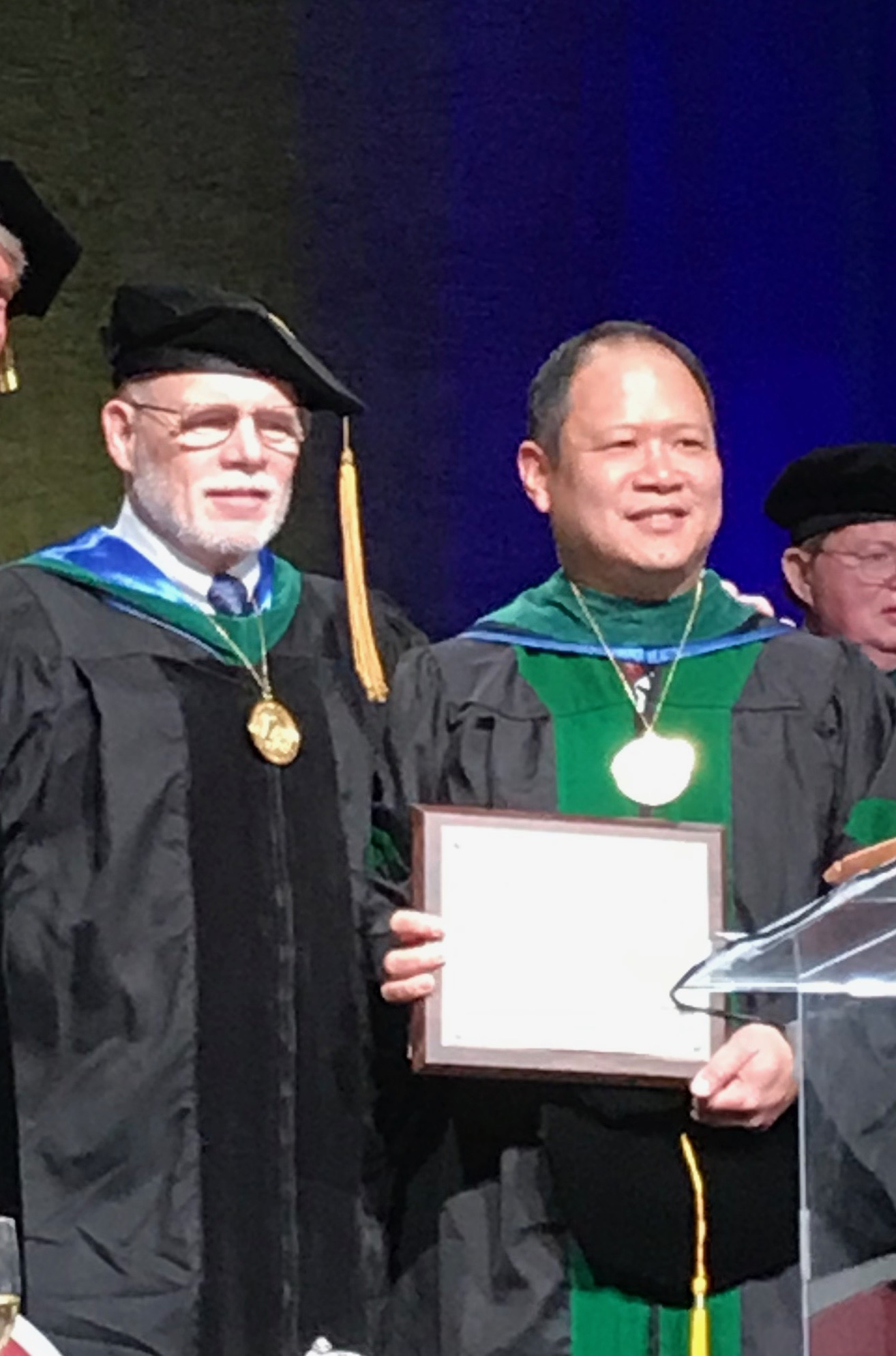 Sheldon Yao DO, received his Fellowship in the American Academy of Osteopathy from Dr. Dennis Dowling DO FAAO
